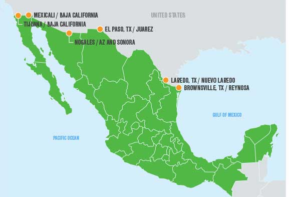 Mexico Transborder Shipping R L Global Logistics