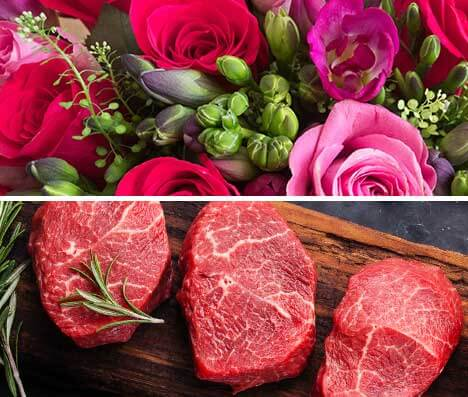 Flowers and meat requiring temperature-controlled shipping & warehousing