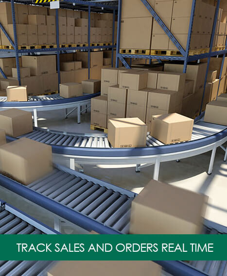Track Sales and Orders Real Time